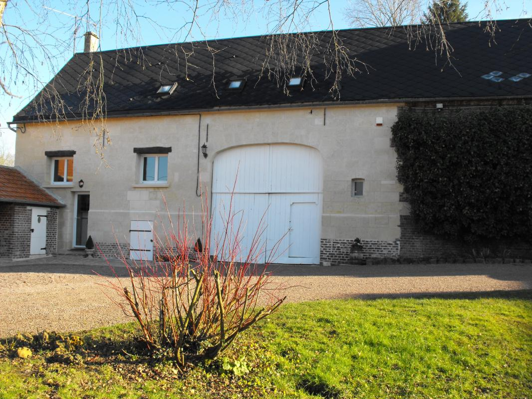 gite de france thiescourt facade