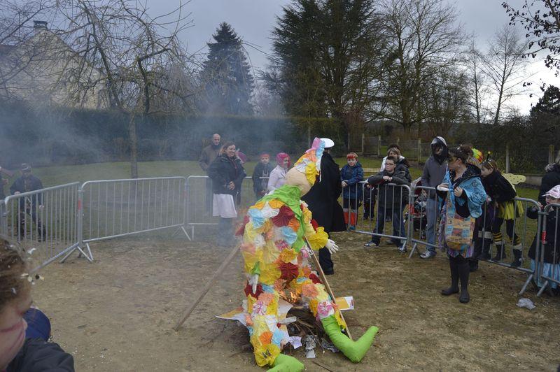 Monsieur Carnaval est descendu de son trône, c'est la fin de l'hiver.