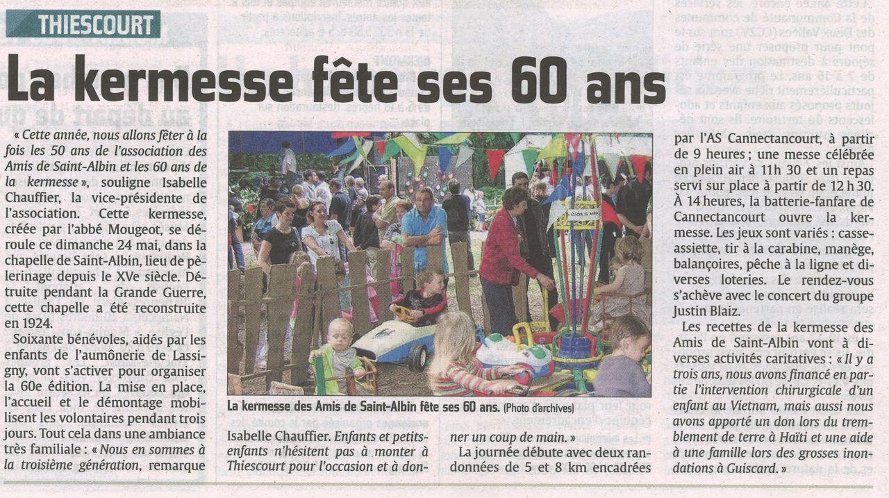Les 60 ans de la fête de la forêt à Thiescourt.