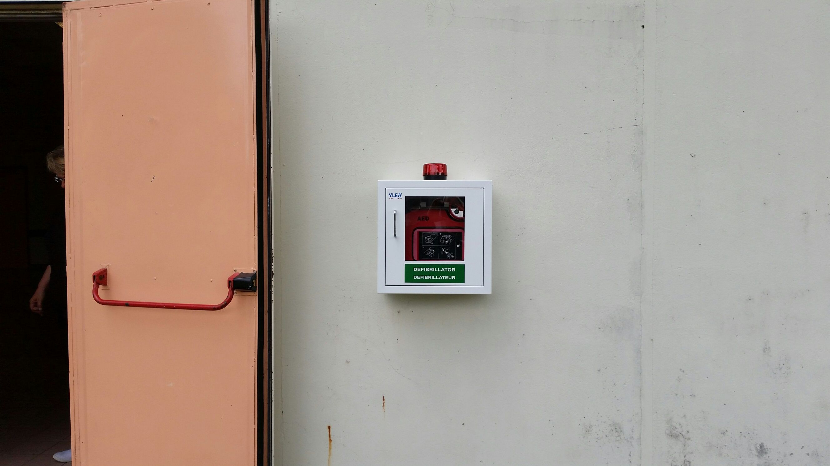 boitier defibrillateur