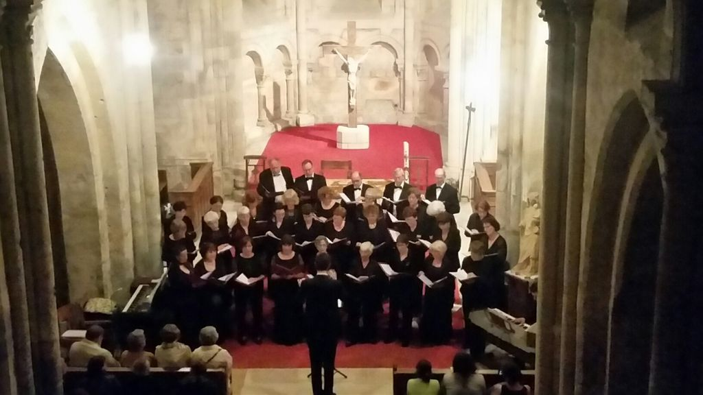Concert du Coeur départemental de l'Oise à Thiescourt.