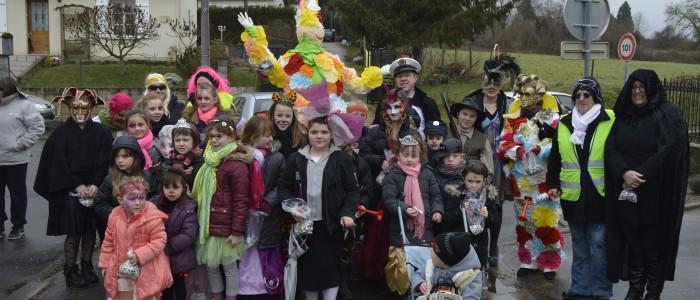 Défilé du carnaval 2015 à Thiescourt